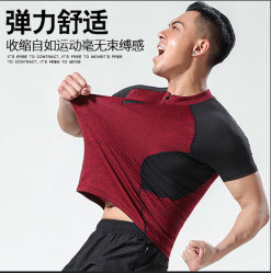 Men's Sport T-Shirt/Breathable Perspiration Fabric /Quick Dry/ Comfortable Fit/70803
