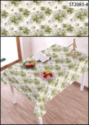 Waterproof PVC/PEVA Printed Tablecloth with Best Price