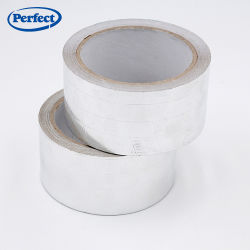 Synthetic Rubber Resin Adhesive Solvent Based Arylic Aluminum Foil Tape