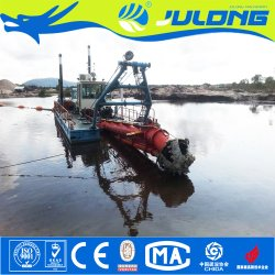 China Julong Large Capacity Cutter Suction Dredger & Dredging Machine & Sand Dredging Machine
