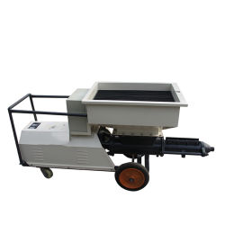Sand Cement Mortar Plaster Machine Render Spraying Pump