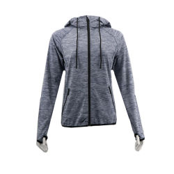 Chinese Garment New Design Style Plus Size Woman Manufacturer Casual Sportswear Coat Clothing Activewear Top Hoodie Fitness Apparel