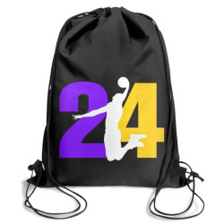 Portable Folding Custom Sport Backpack School Baseball Drawstring String Bag