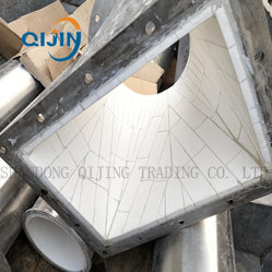 Wear Resistant Alumina Ceramic Lined Pipe for Slurry, Powder Removal