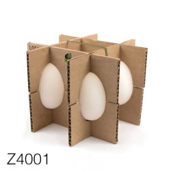 Z4001 Custom Recycle Corrugated Paper 12 Egg Box/Cartons Packing