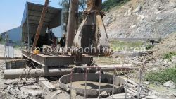 Free Fall Punch Steel Drop Hammer Pile Driver