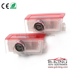 Newsun No Drilling LED Ghost Shadow Projector Laser Courtesy Logo Light