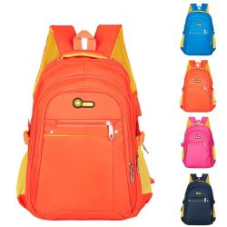 large capacity colorful costom student backpack fancy school bag