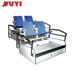 Jy-720 Soccer Classic VIP Wood Collapsible High Quality Plastic Wholesale Steel Retractable Gym Bleachers Beach Folding Chair