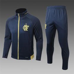 Wholesale Top Grade Soccer Man Training Suit Football Uniforms Man Sportswear Tracksuits