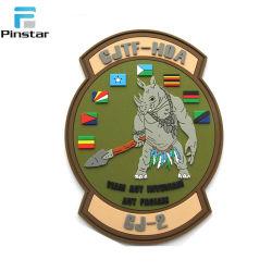 Custom Tactical Morale Military United Kingdom Flag Hook & Loop PVC Patch