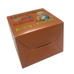 Food Grade Cup Cake Packing Paper Box for Sale