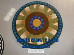 Hand Tufted /Wool /Round Shape Carpet