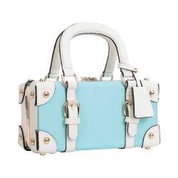 Vintage Mini Luggage Clasp Women Box Bag (MBNO042018)