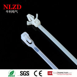 High quality plastic mountable head cable tie with length 4 6 8 14 inch
