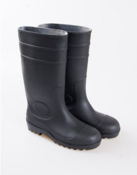 0eab2b0b6351 Ce Standard Steel Toe Rubber Boots PVC Shoes Rainboots