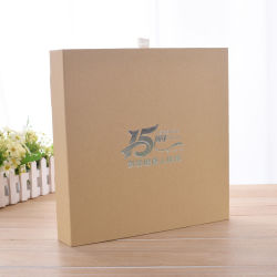 Customized Gift Packaging Paper Box Book Bag