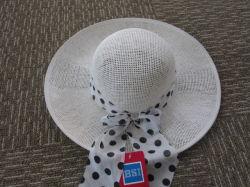 100% Paper Sun Dress Ladies Hats Straw Hat /Cap