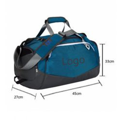 High Quality Environmental Protection Fashion Shoulder Luggage Travel Gym Sports Bag