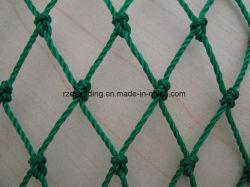 Polyethylene Dark Green Knotted Fishing Net