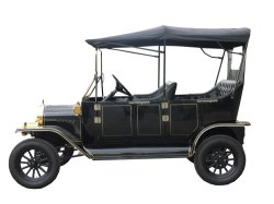 Hot Sale Elegant Design Resort Antique Electric Club Car Passenger Car