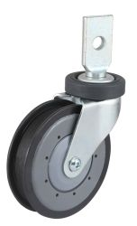 PU Wheel Shopping Trolley Caster (One Groove)