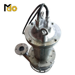 Powerful Small Vertical Gold Mining Solid Submersible Diesel Slurry Transfer Pump for Heavy Duty