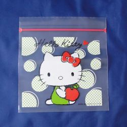 Cartoon Pattern with Zipper PE/PP Packing Bag