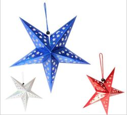christmas tree decorations radium paper star