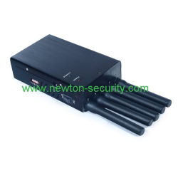 Cell phone blocker south africa | 5 Antennas Handheld WiFi GPS Cell Phone Jammer