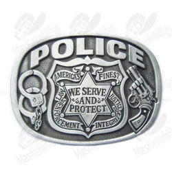 Customized High Quality Honor Police Pin Badge Flag Plane Star