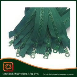 Clothing Accessories Plastic Zipper Metal Head