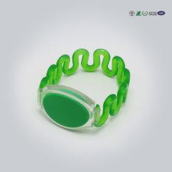Wholesale Nice Design Waterproof Silicon Wrist Strap