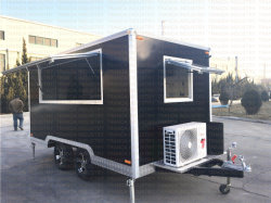 Customzied Catering Mobile Fast Cart Kiosk Soft Drinkfood Trolley