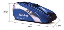 Fabric Sports Badminton Racket Bag