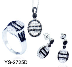 New Design 925 Silver Fashion Jewelry Set with Factory Price