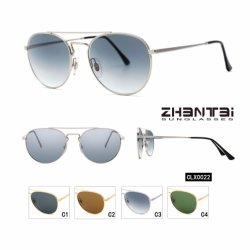 f3fb8dcfdf6 Top Factory Wholesale Stainless Frame and Glass Lens Fashion Sunglasses  (CLX0022)