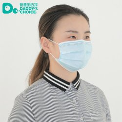 Non-Woven Mouth Mask 3ply Disposable Face Mask with Earloop Anti Dust Wholesale Good Quality Three-Layer Mask China Supplier
