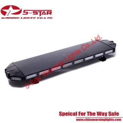 Black Case 3W Aluminum Emergency Police Lightbar/ Warning LED Light Bar