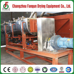 Ce ISO ASME Certificated Paddle Dryer for Paste, Slurry, Carbon Black, Calcium Carbanate, Polyethlene, Polypropylene From Top Chinese Supplier