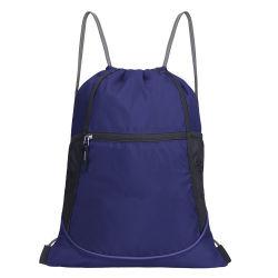 Waterproof Custom Logo Gym Sport Polyester Drawstring Bag
