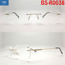 bda450104a OEM Copper Stainless Steel Material New Design Rimless Reading Glasses  Frameless Spectacles with Super Slim Temple Cheap