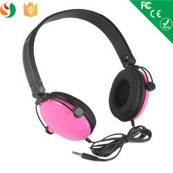 Colorful Single Side Headphone with Microphone