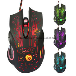 0b6bda61aec Promotion 3200dpi LED Optical 6D USB Wired Gaming Mouse 6buttons Game PRO Gamer  Computer Mice for