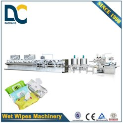 Full Automatical Interfold Machine for Baby Wipes