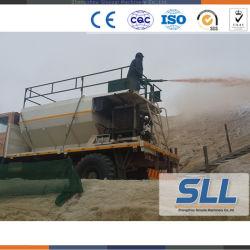 Vehicle-Mounted Slope Greening Soil Spraying Machine for Planting Seeds