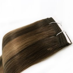 100% Remy Human Hair Weaves Fashion Multi Colors Straight Style Double Drawn Best Quality Factory Price