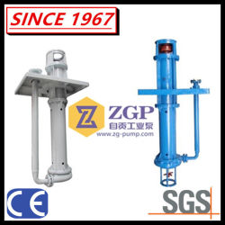 Vertical Submerged Stainless Steel Corrosion Resistant Centrifugal Slurry Pump