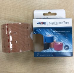 Certified Kinesio Tape Kt Tape Sports Tape with Logo Printing
