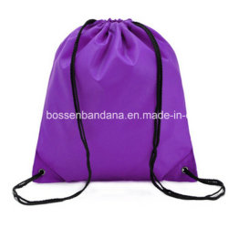 OEM Customized Polyester Nylon Oxford Folding Red Bag Pack for Gym Sport or Travel Storage